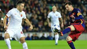 Manolas Messi AS Rom FC Barcelona 24112015