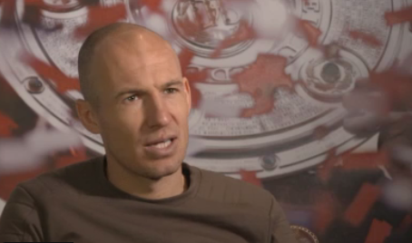 Arjen Robben Interview