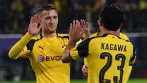Shinji Kagawa Marco Reus Borussia Dortmund Champions League