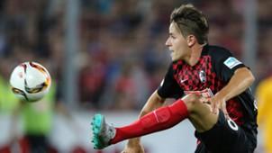 Christian Günter SC Freiburg - 1. FC Nürnberg  2. Bundesliga 07.27.2015