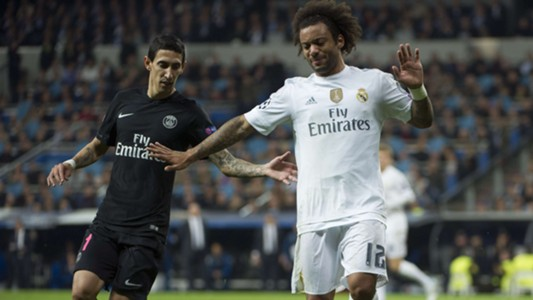 Marcelo Real Madrid PSG Champions League 11.03.2015