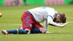 Aaron Hunt Hamburger SV Bundesliga 03192016