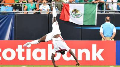 Trinidad & Tobago Kenwyne Jones Mexico Gold Cup 07152015