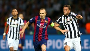Andres Iniesta Claudio Marchisio FC Barcelona Juventus Turin Champions League 06062015
