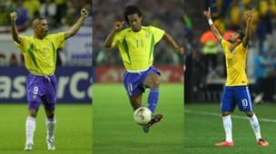 GFX Info Neymar Ronaldo Ronaldinho