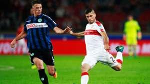 Emiliano Insua VfB Stuttgart Greuther Fürth 2. Bundesliga 03102016