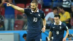 Karim Benzema Mathieu Valbuena France 06152014
