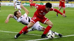 Tony Jantschke Jairo Samperio Borussia Monchengladbach FSV Mainz 05 Bundesliga 11122016
