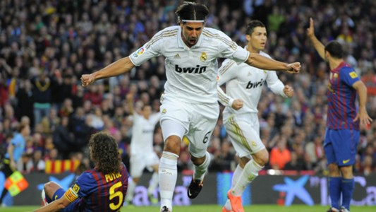 Sami Khedira Real Madrid FC Barcelona 21042012