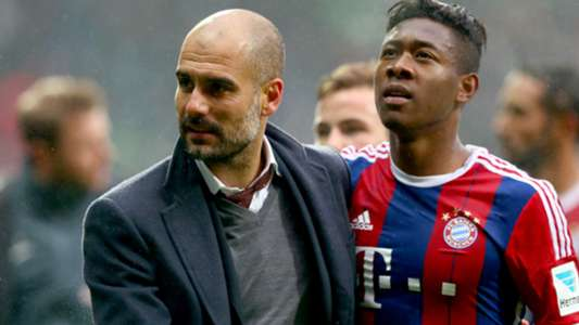 David Alaba Pep Guardiola FC Bayern Bundesliga 14032015