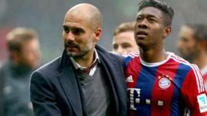 David Alaba Pep Guardiola FC Bayern Bundesliga 14032015