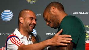 Pep Guardiola Thierry Henry