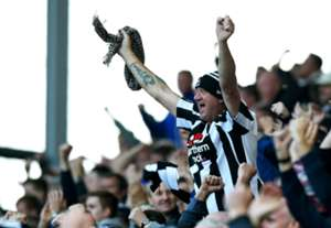 Fans of Newcastle United