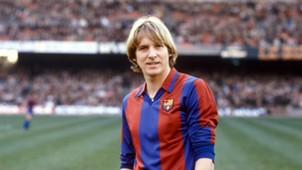 ***GERMAN EDITION ONLY*** Bernd Schuster FC Barcelona 09111980