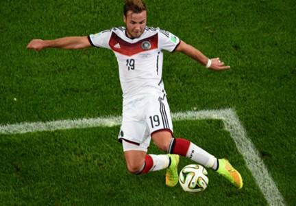 MARIO GOTZE GERMANY 2014 WORLD CUP FINAL 07132014