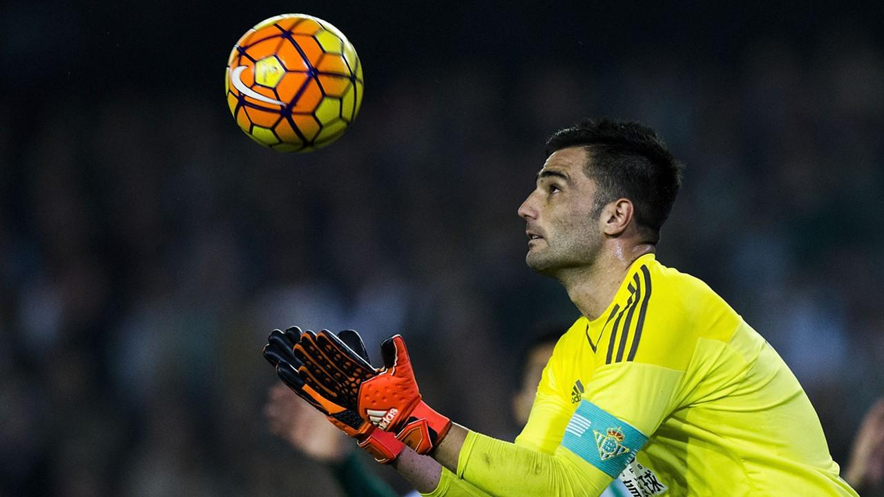 Antonio Adan Real Betis 24012016