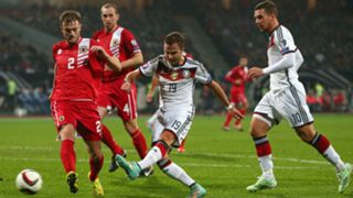 Mario Gotze Germany Gibraltar European Qualifiers 14112014