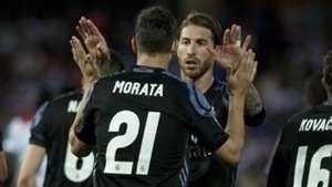 Real Madrid Granada Ramos Morata 06052017