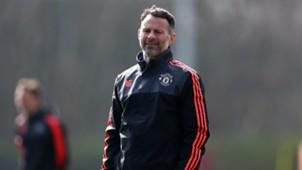 Ryan Giggs Manchester United Training 03162016