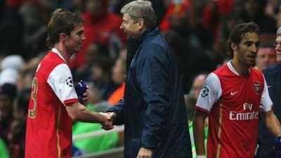 Aleksandr Hleb Arsene Wenger Arsenal Premier League 23102007