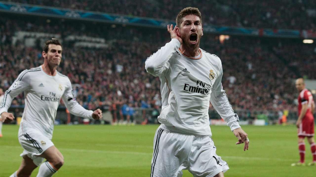 Sergio Ramos FC Bayern Munchen Real Madrid Champions League 29042014