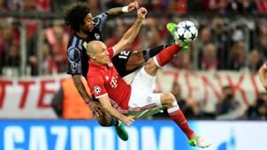 MARCELO REAL MADRID ARJEN ROBBEN BAYERN MÜNCHEN UEFA CHAMPIONS LEAGUE 12042017