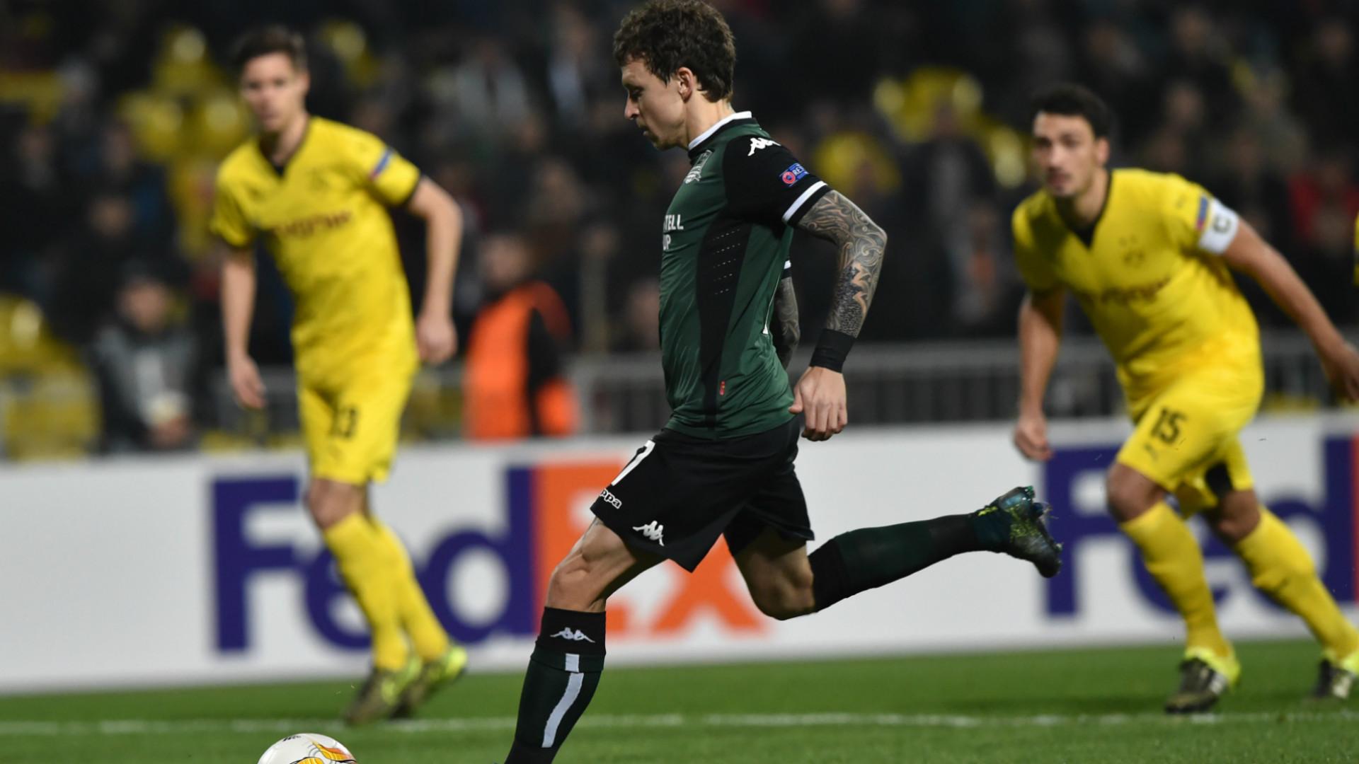 Pavel Mamaev Krasnodar Borussia Dortmund Europa League 26112015