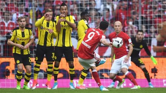 Lewandowski Dortmund Bayern 08042017