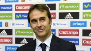 Julen Lopetegui Spanien Pressekonferenz 21072016