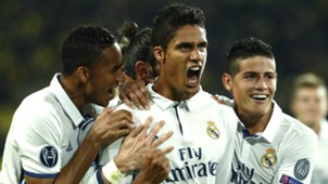 Raphael Varane Borussia Dortmund Real Madrid Champions League 27092016