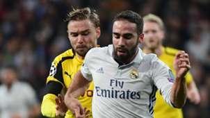 Marcel Schmelzer Dani Carvajal Real Madrid Borussia Dortmund Champions League 07122016