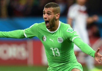 Islam Slimani Germany Algeria World Cup 06302014