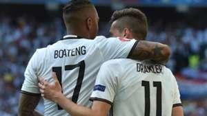 Jerome Boateng Julian Draxler Germany Slovakia 06262016