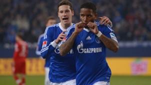 Julian Draxler Jefferson Farfan Schalke 04 11302013
