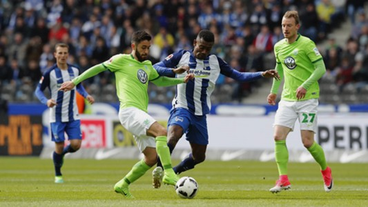 Malli Kalou Wolfsburg Hertha