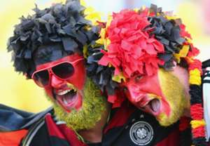 GERMANY FANS GERMANY ARGENTINA 2014 WORLD CUP FINAL 07132014