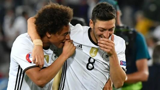 Leroy Sane Mesut Ozil Germany