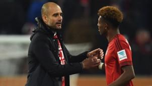 Pep Guardiola David Alaba FC Bayern 14022016