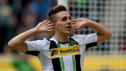 Patrick Hermann Mönchengladbach Borussia Dortmund Bundesliga 04112015