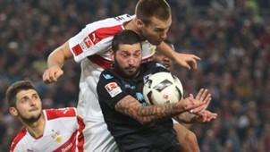 Toni Sinjic Sascha Mölders VfB Stuttgart 1860 München 2. Bundesliga 21102016