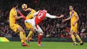 Olivier Giroud Arsenal 01012017