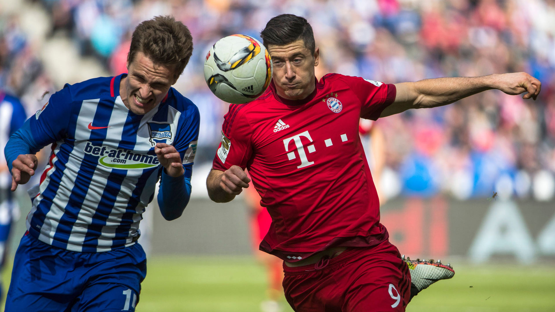 Hertha BSC 0 - 2 Bayern München Match report - 4 23 16 Bundesliga ... 8078b5758