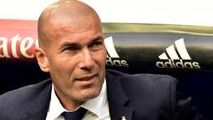 Zinedine Zidane Real Madrid 14052017