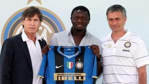 Sulley Muntari Jose Mourinho Inter Milan 28072008