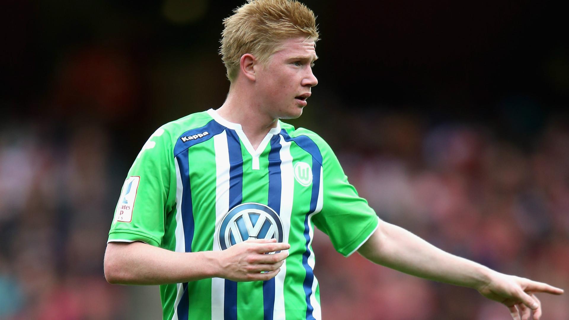 Kevin De Bruyne Wolfsburg Emirates Cup 26072015