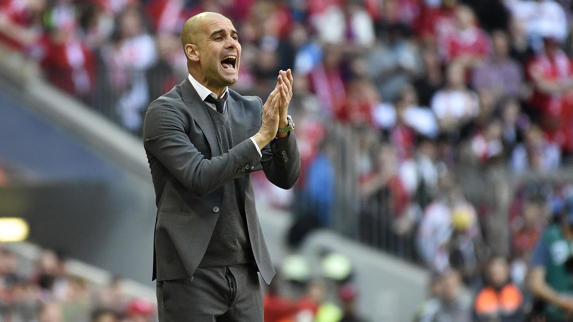 Pep Guardiola Bayern München 30042016