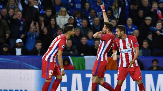 Saul Carrasco Gabi Atletico Leicester