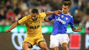 Cameron Carter-Vicker PAulo Dybala Tottenham Hotspur Juventus ICC 07262016