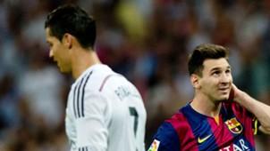 Cristiano Ronaldo Real Madrid Lionel Messi Barcelona Clasico 25102014