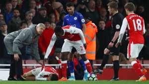 Alexis Sanchez Leicester Arsenal